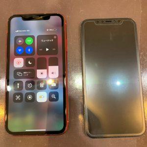 液晶がエラーを起こしたiPhone11