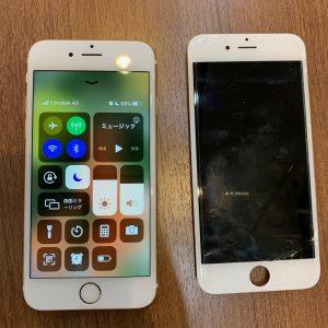 フロントガラス交換修理をしたiPhone6s