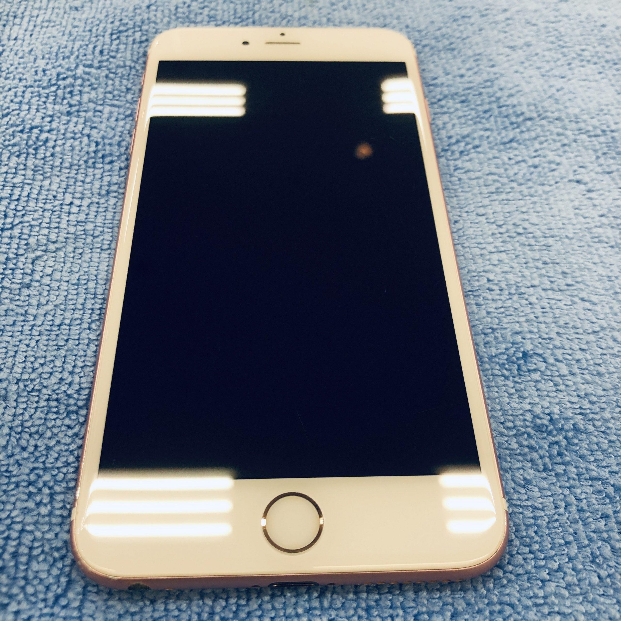 【 iPhone 6s+ 】鳥栖市よりガラスコーティングの施工にお越し頂きました