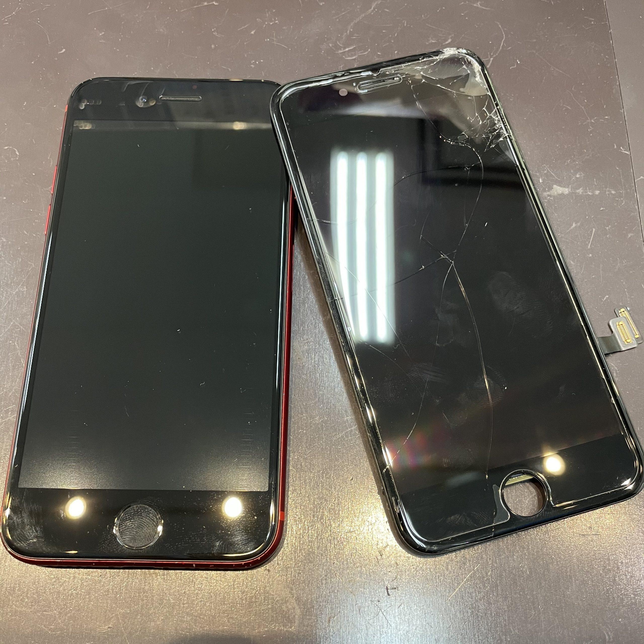 iPhone8の画面交換に伊万里市よりご来店くださいました✨