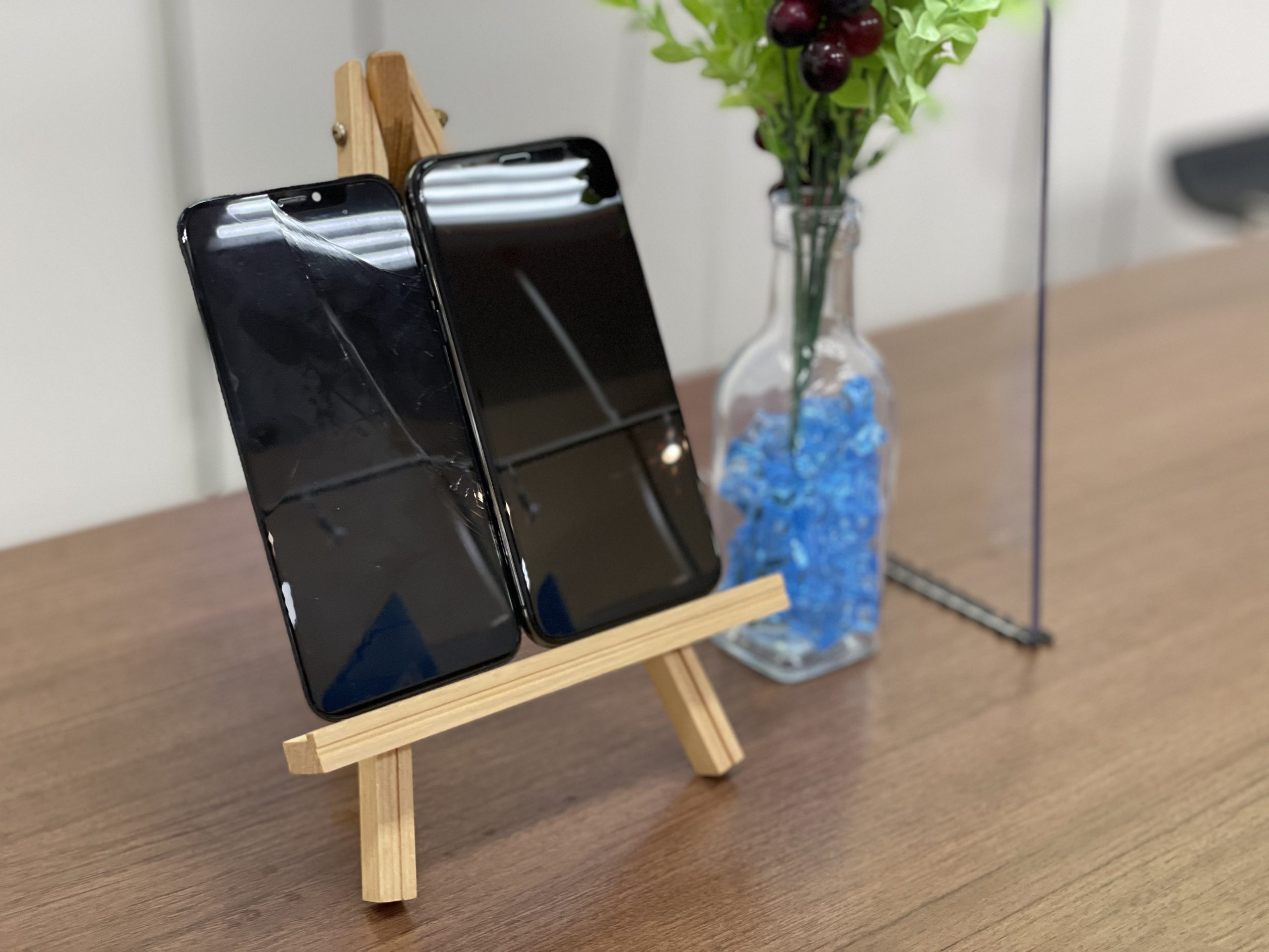 【iPhone X】画面交換即日交換!〈神埼市よりご来店〉