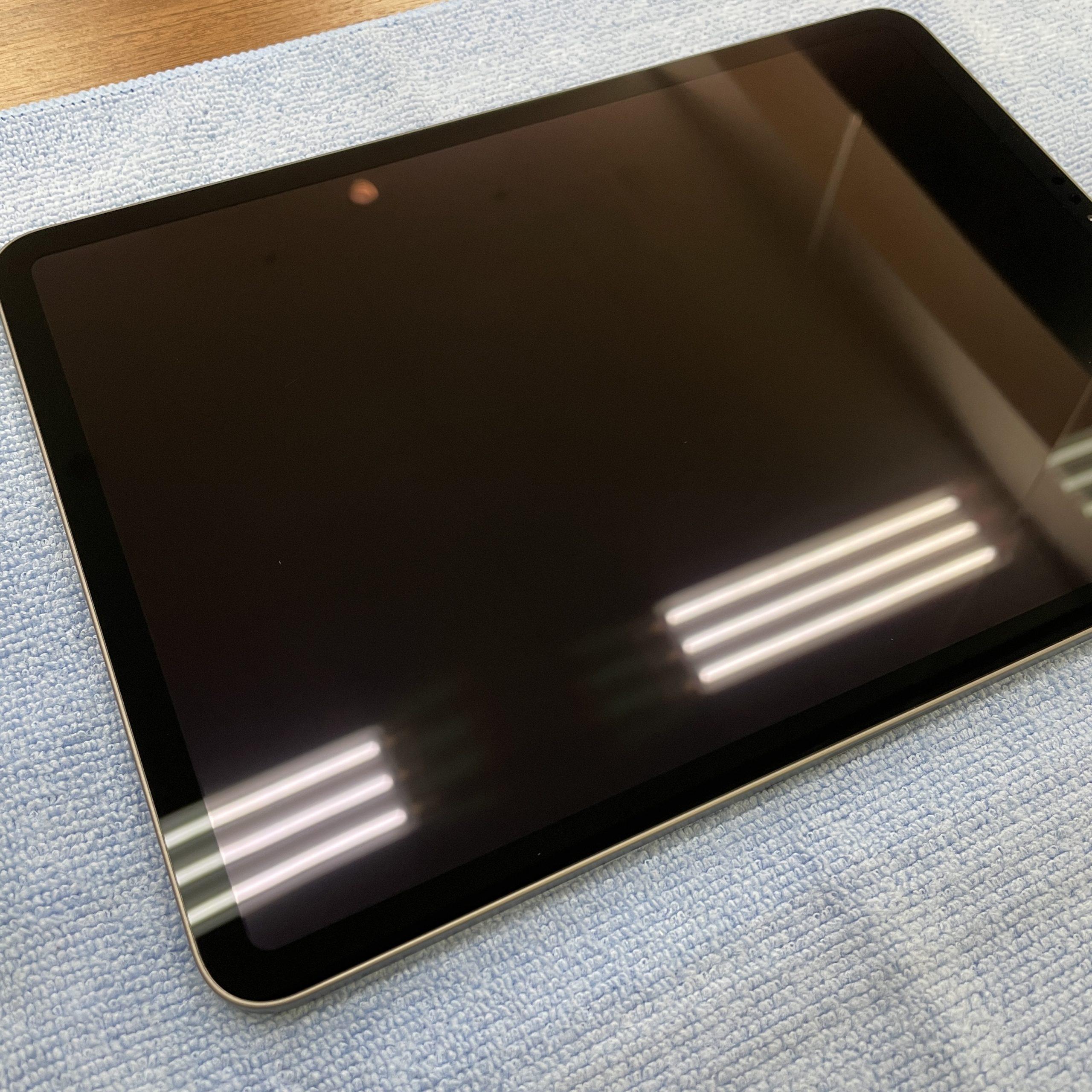 過保護なくらいが丁度いい【iPad Pro|佐賀市よりご来店】