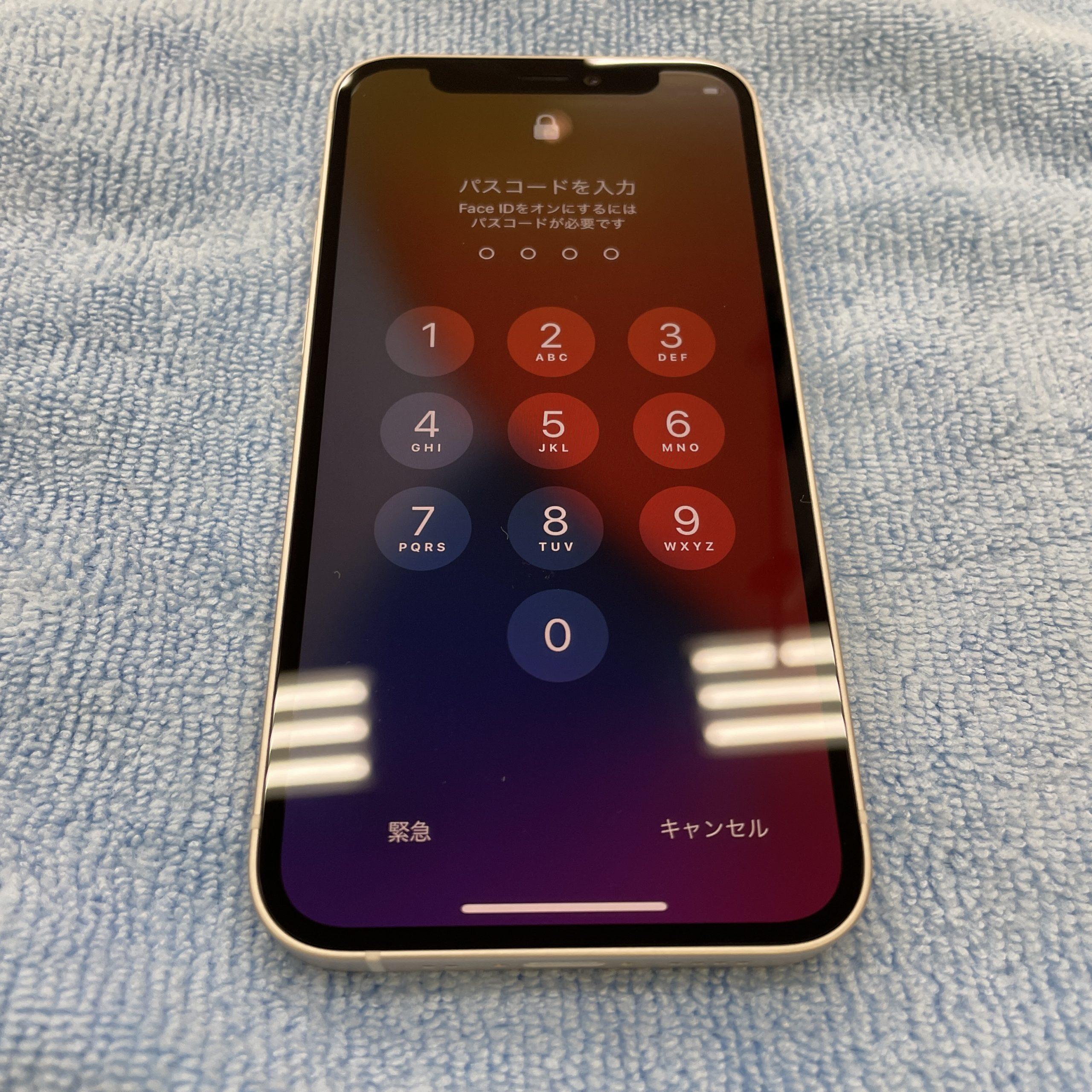 ケースは付けたくないからコーティングを…📱✨【iPhone12mini|佐賀市よりご来店】
