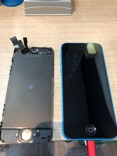 【iPhone5c】バッテリー交換しただけなのに・・・〈小城市よりご来店〉
