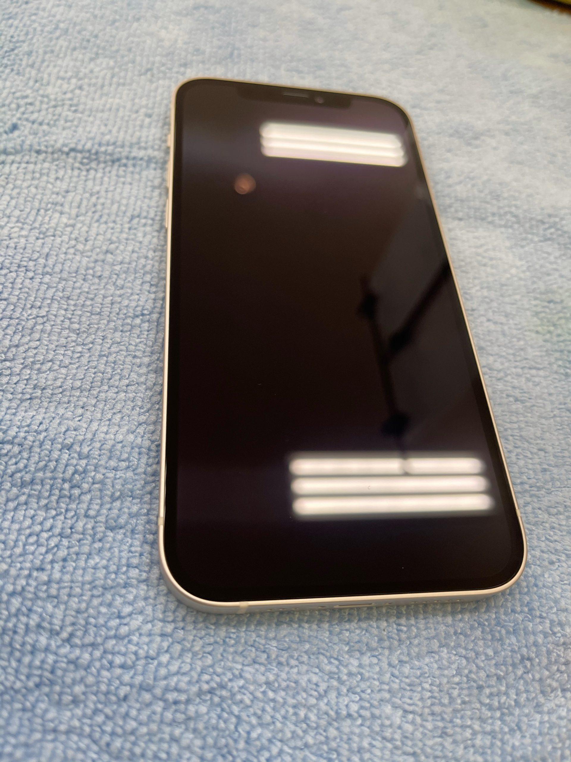 【iPhone12】ガラスコーティングで硬度9H相当に!〈佐賀市よりご来店〉