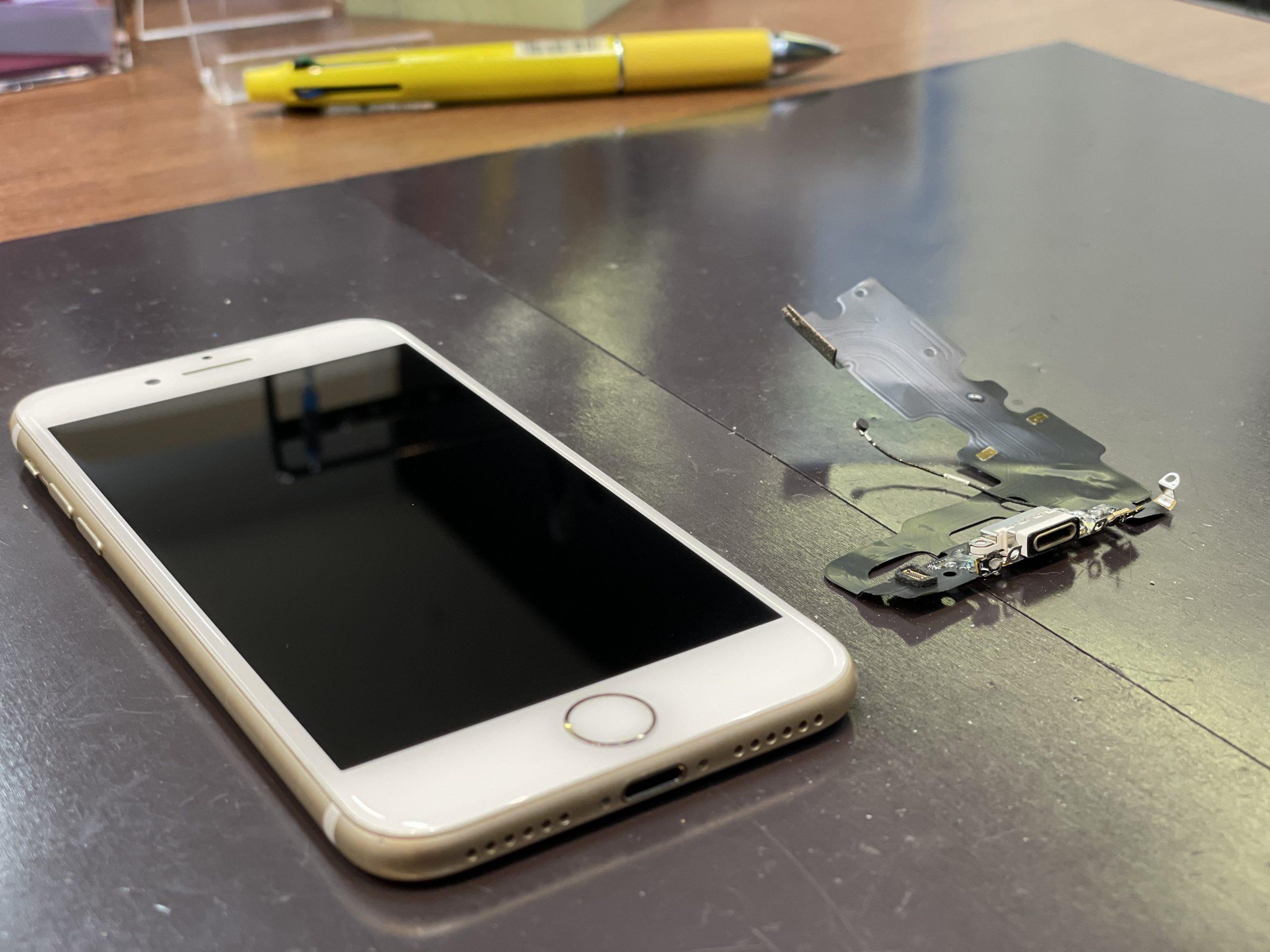 充電できなくなったらコネクターかも?🤔【iPhone7|佐賀市よりご来店】
