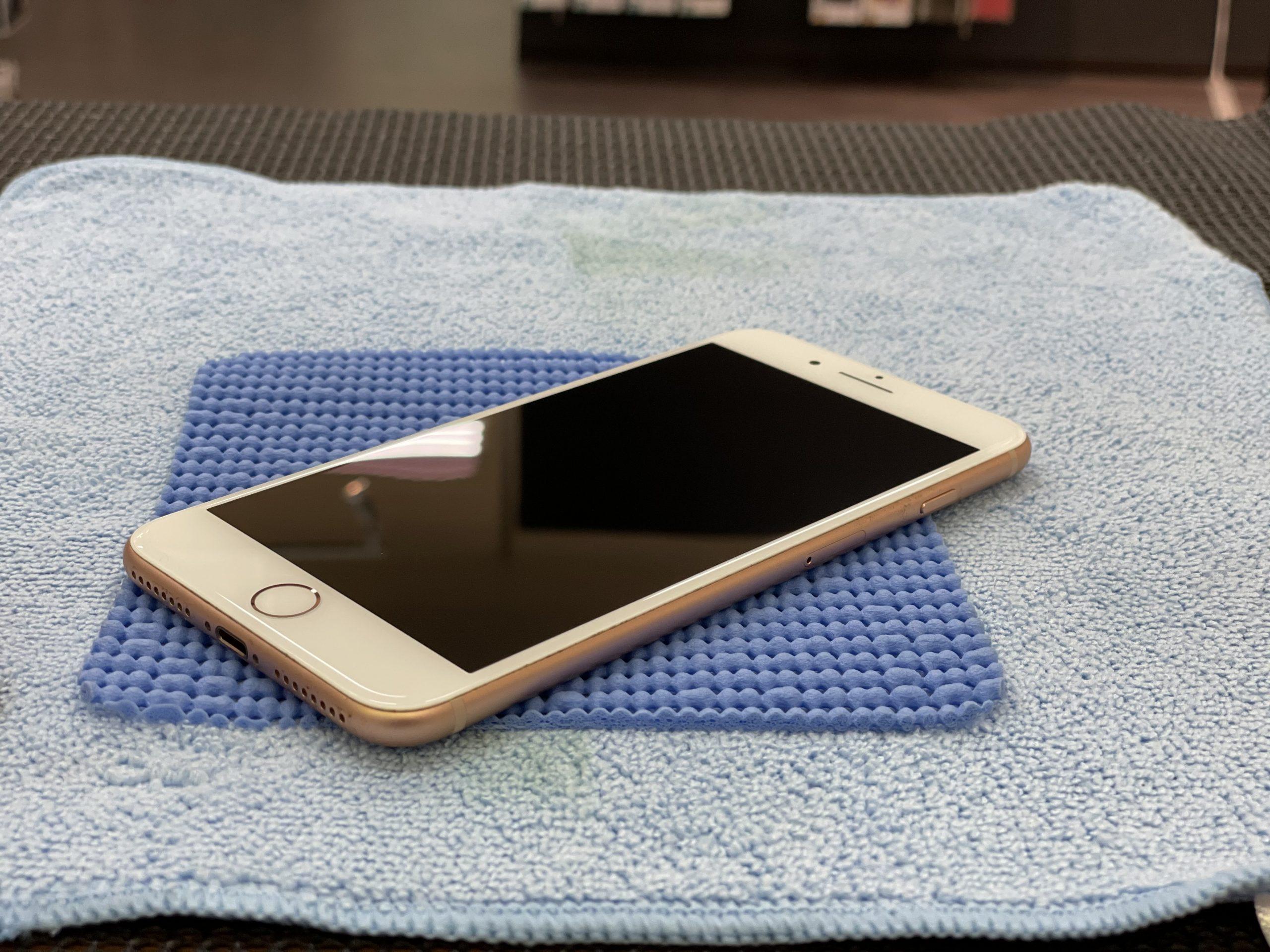 画面交換は高額ですよ〜😅【iPhone8|三養基郡よりご来店】