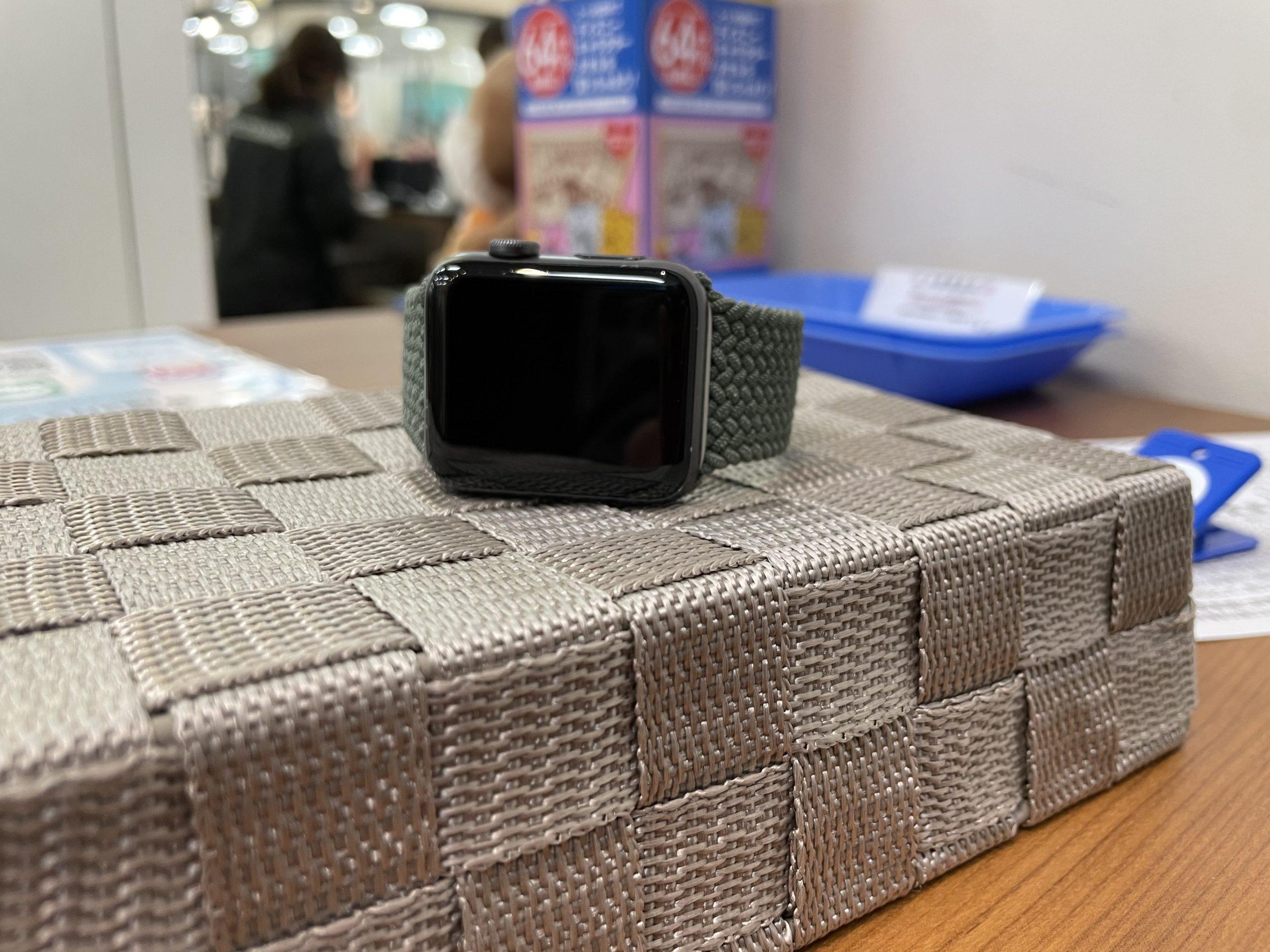 【ガラスコーティング紹介】Apple Watchにも施工できますよ⁉️〈多久市からご来店〉