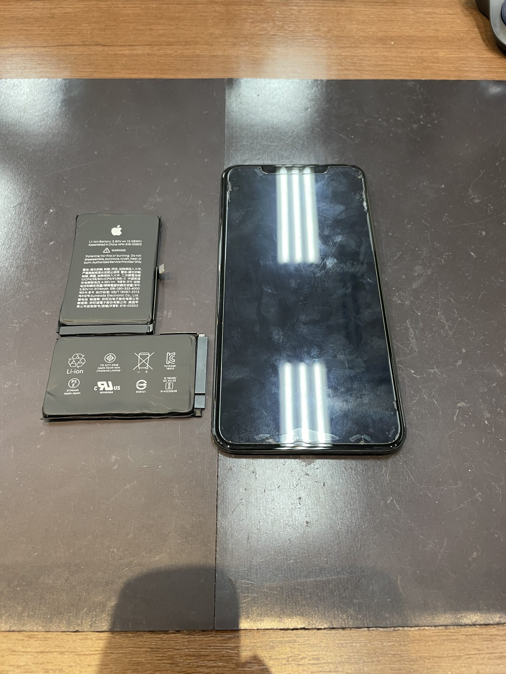 もしかして水没した・・・😱【iPhoneXS MAX|佐賀市よりご来店】