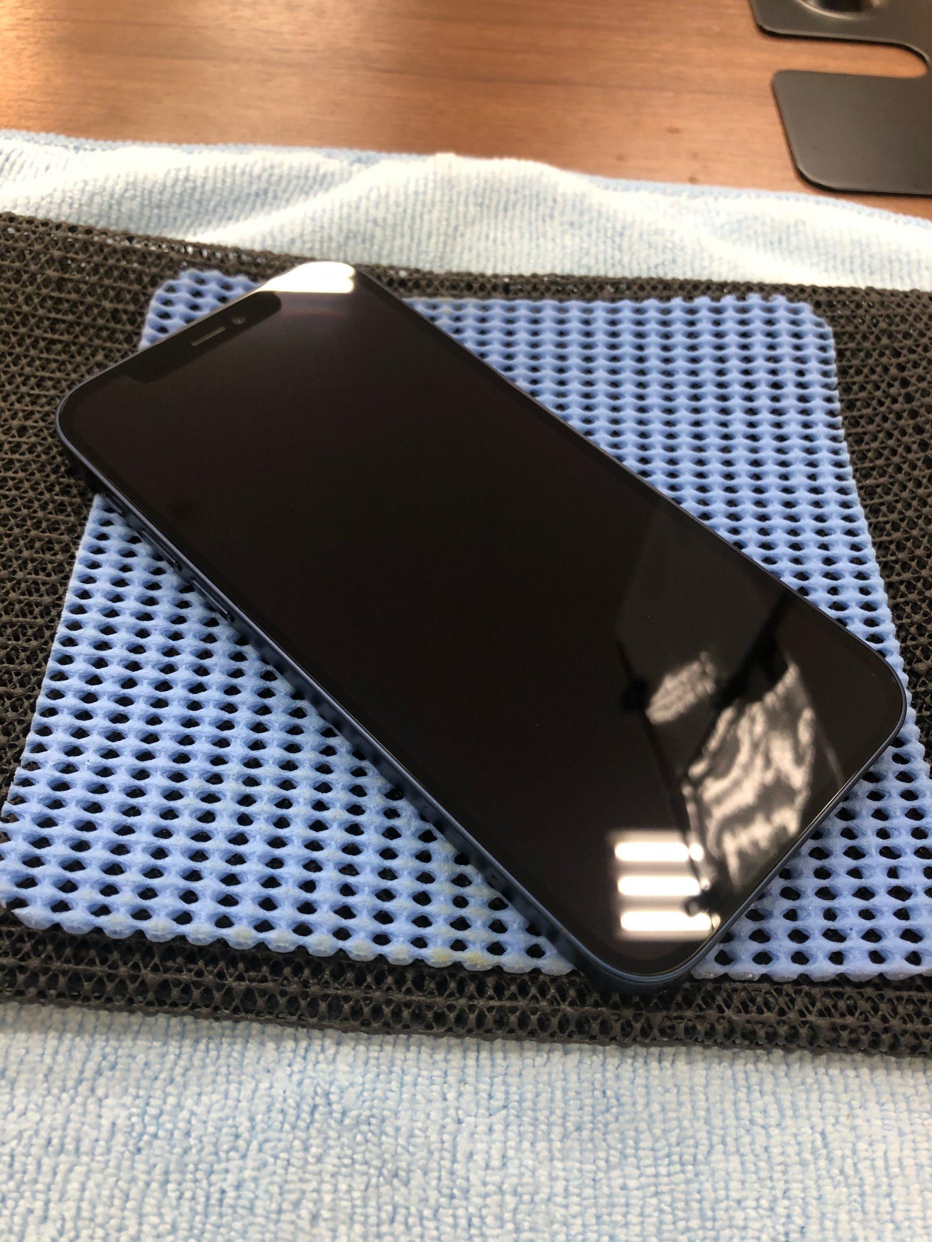 【iPhone12】ガラスコーティングで画面強化!〈多久市よりご来店〉