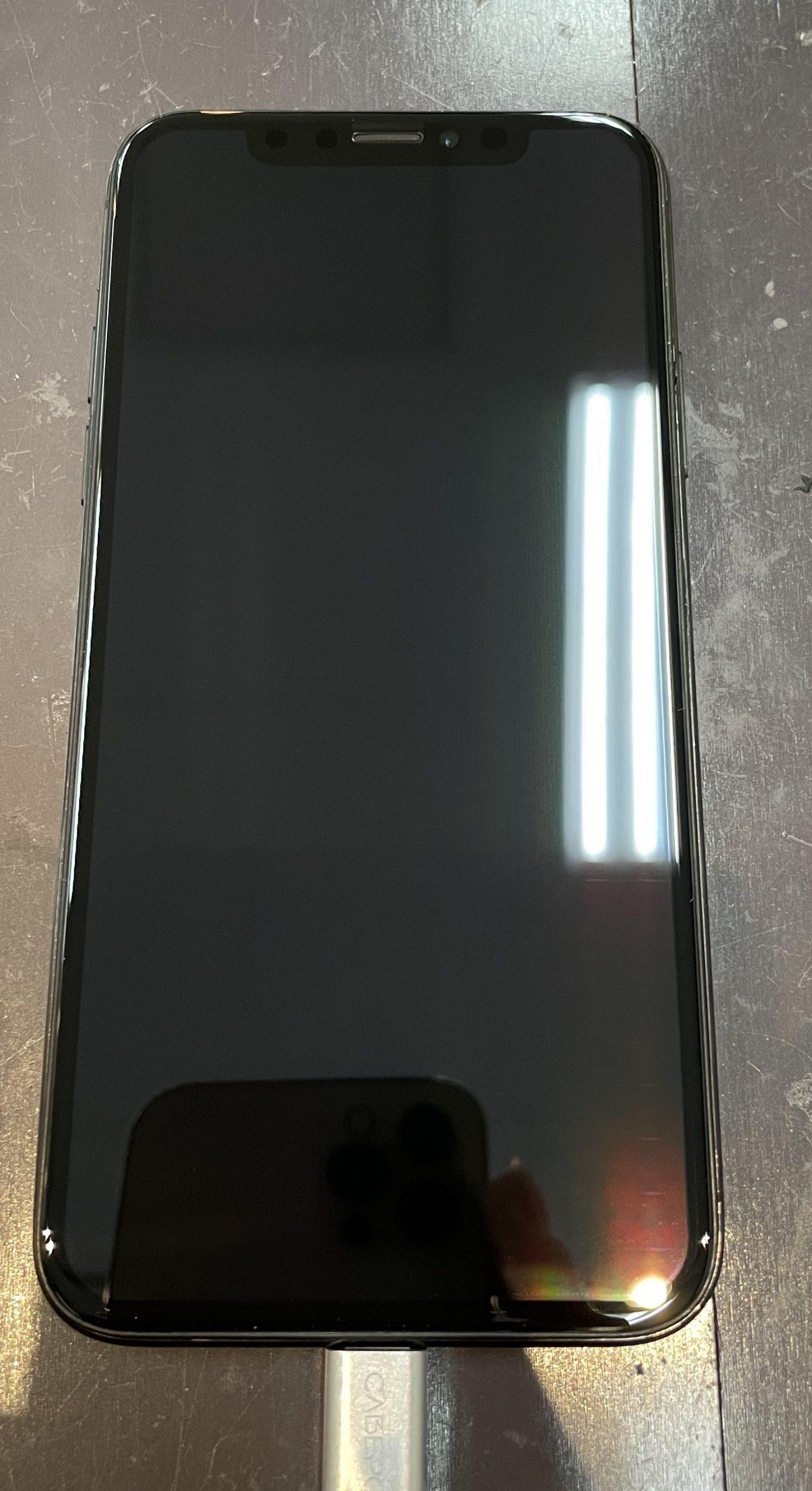 ゴーストタッチは画面交換で治ります‼️【iPhoneX|神埼市よりご来店】