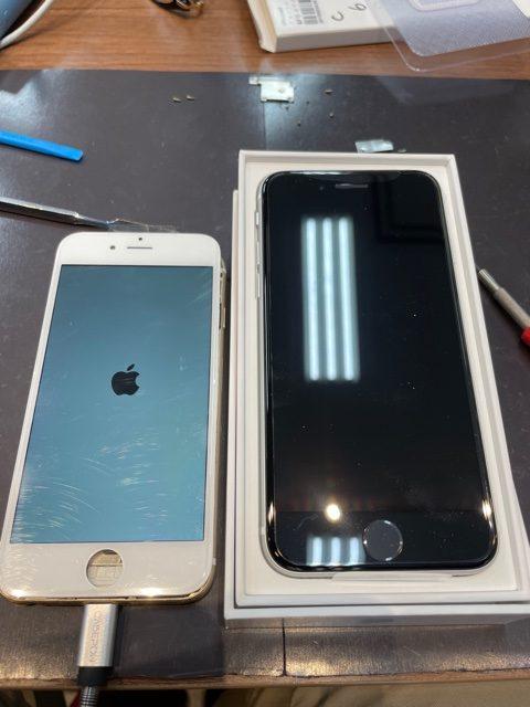 iPhoneのことでわからないことがあれば当店へ‼︎〈iPhone6→iPhoneSE2へ〉