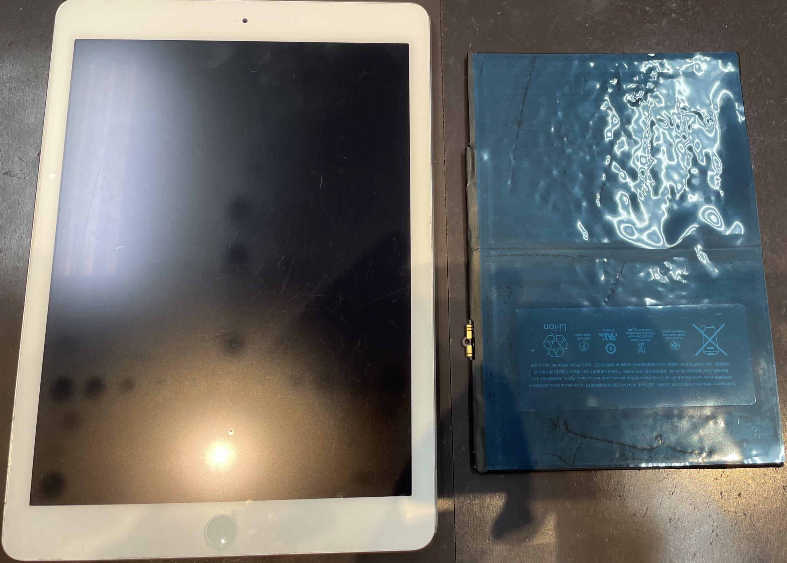 iPad Airのバッテリー交換が即日で修理可能になりました✨【iPad Air 佐賀市よりご来店】