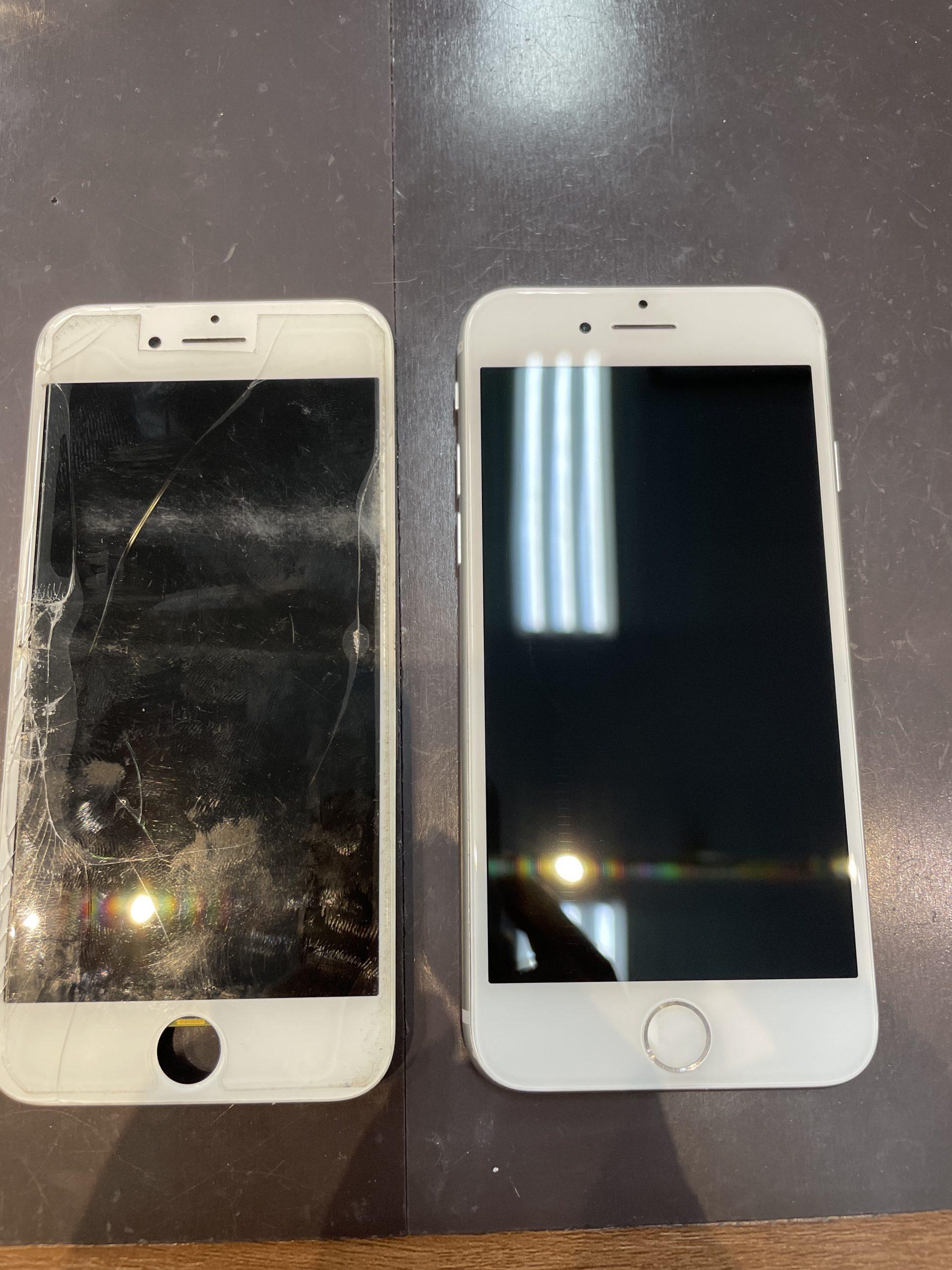 バッキバキのiPhoneでもその日には治ります‼️【iPhone6s|大川市よりご来店】