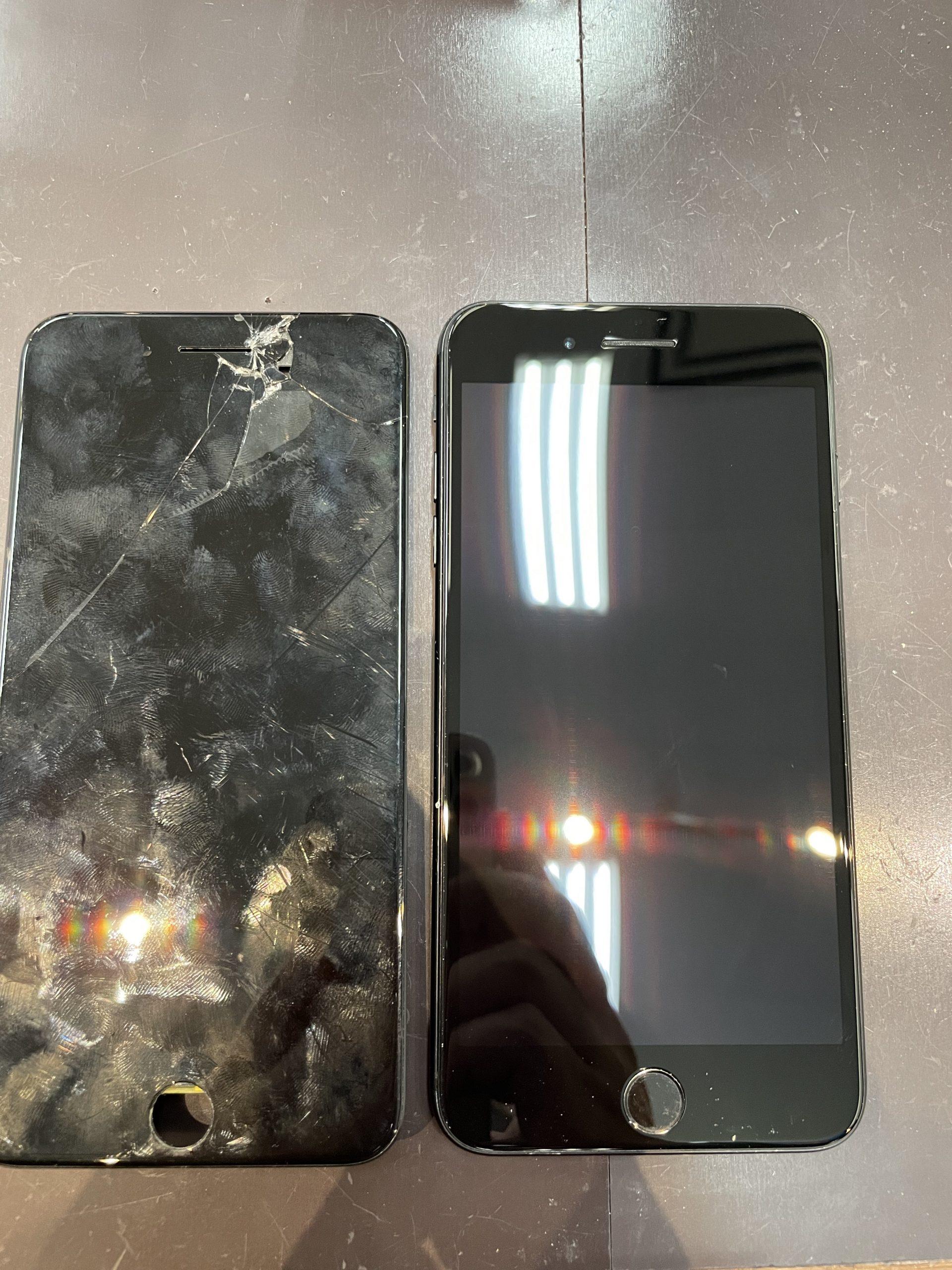 子供用のiPhone7plus修理しました【佐賀県iPhone修理店|佐賀市よりご来店】