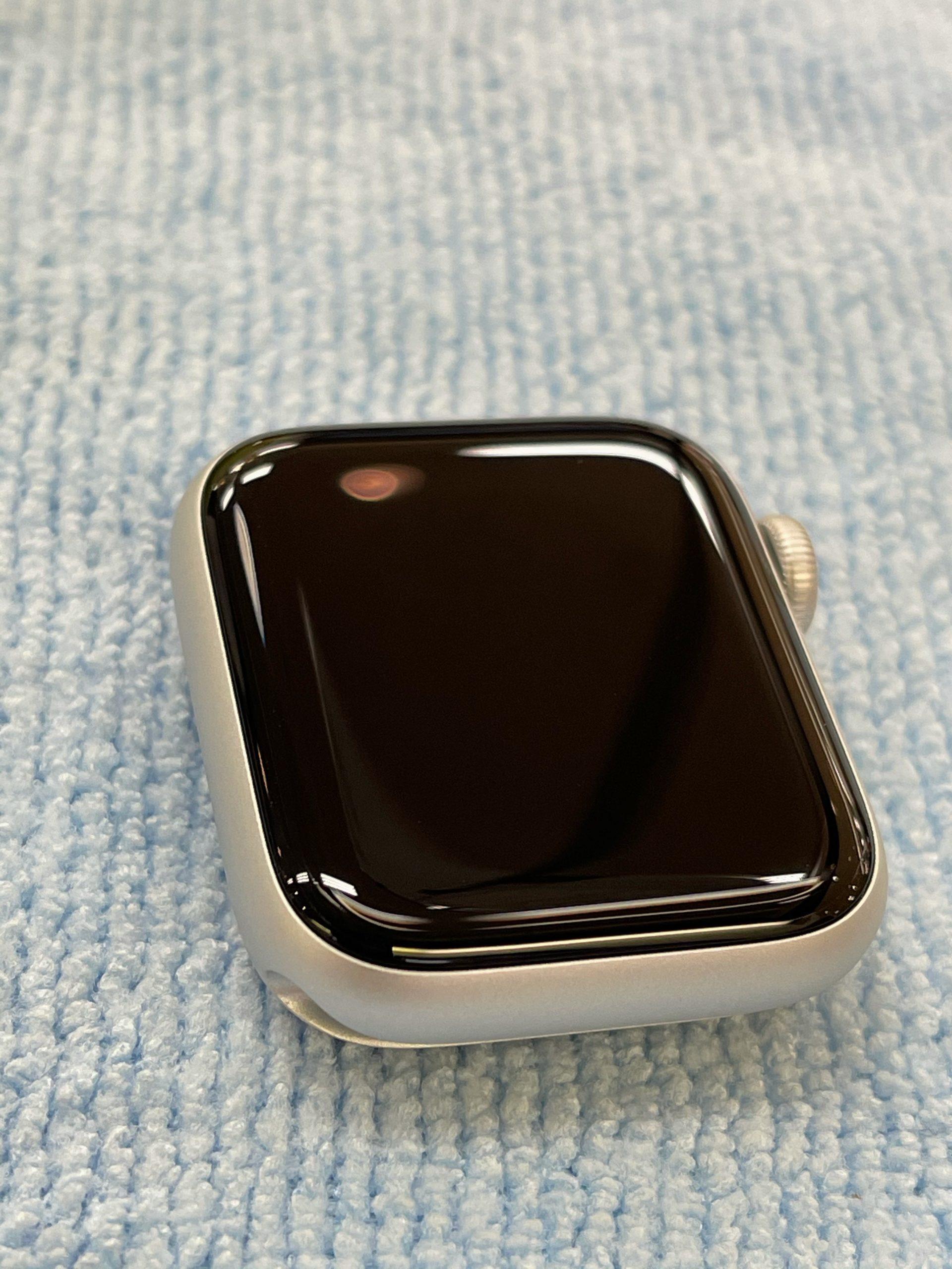 【AppleWatch】ガラスコーティングしたい。〈佐賀市よりご来店〉