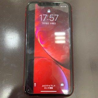 iPhoneXR/液晶に黒い線が…/iPhone修理佐賀市