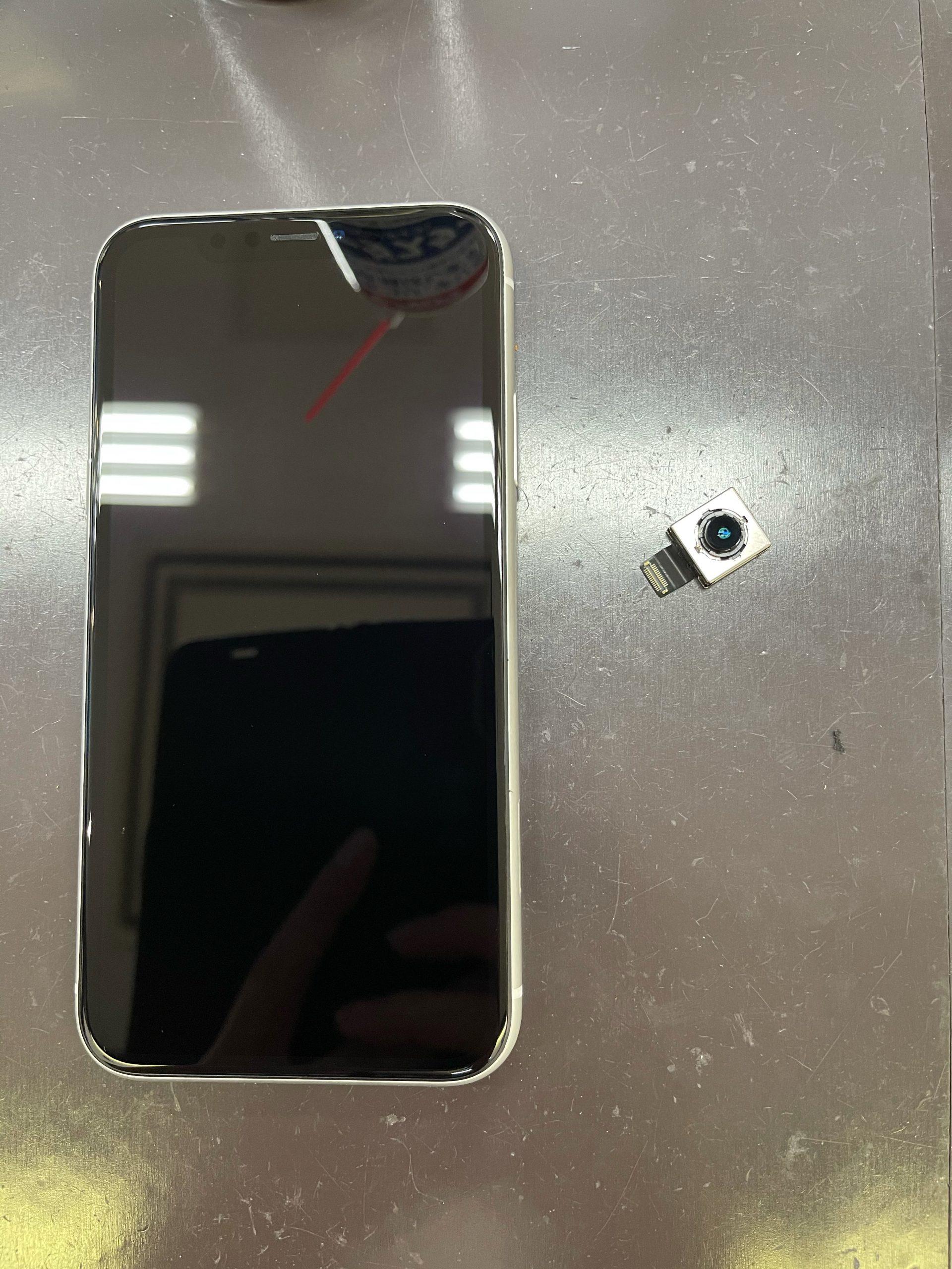 【iPhoneXR】バックカメラが使えません💦≪佐賀市よりご来店≫