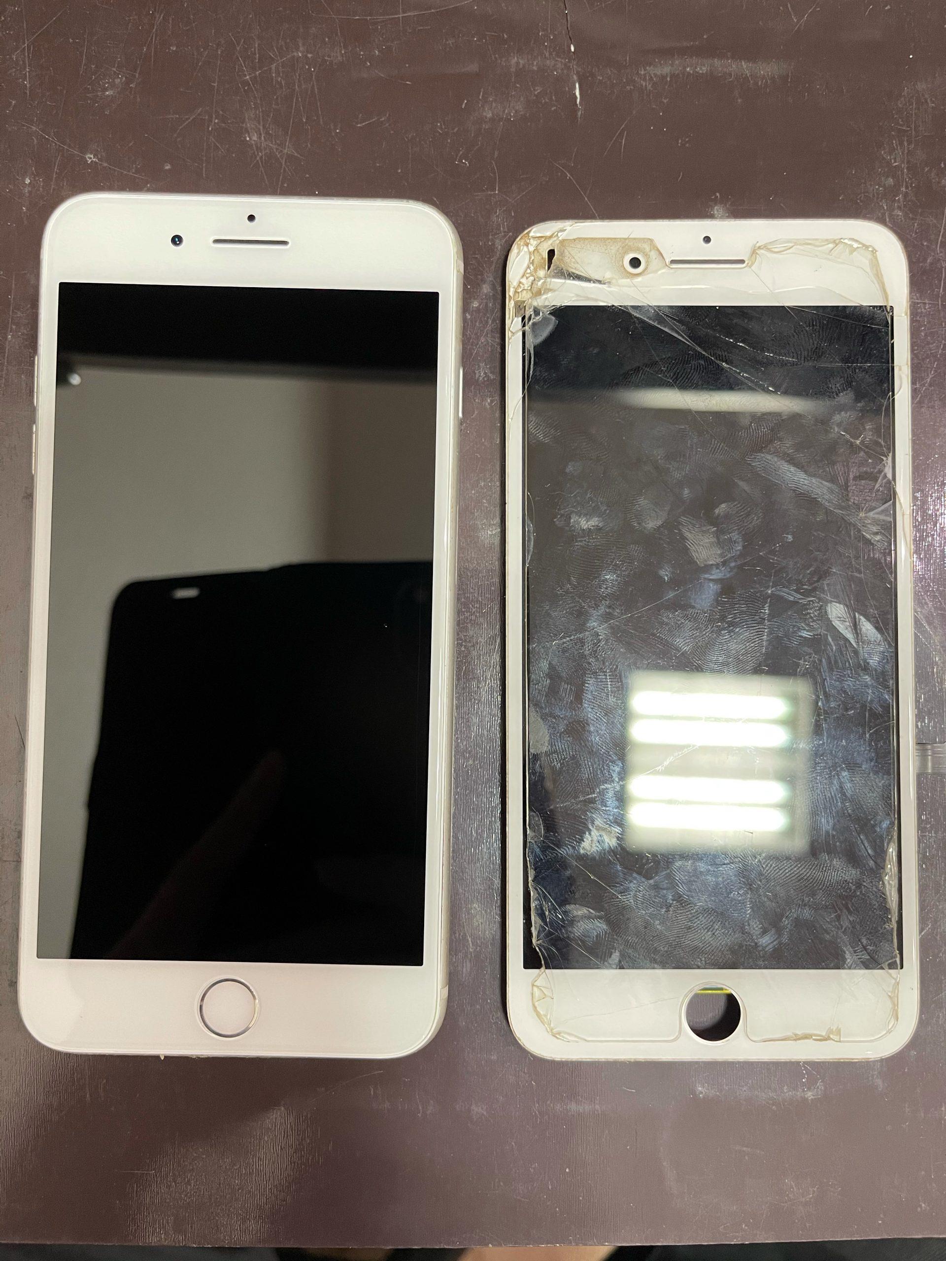 【iPhone7】画面割れしました。≪佐賀市よりご来店≫